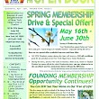 Read Our Spring Open Door Newsletter Now for Blooming Membership Specials, Natural Remedie...