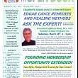 NEW Open Door newsletter–read it now! Cayce on Angels & Spirit Guides, Stay Well without a...