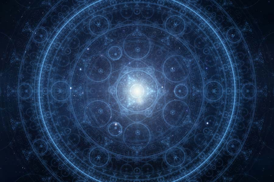 sacred geometry cosmos space
