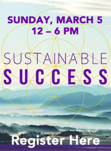 sustainable success conference web ad