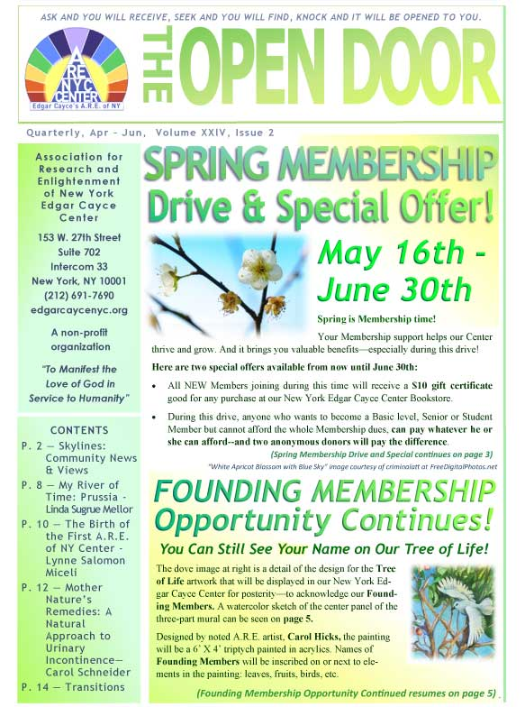 OpenDoorNewsletter Apr Jun2017