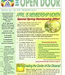 April-June 2015 issue of The Open Door—read now!
