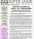 The Open Door newsletter, 16th Anniversary Issue! July-September 2013