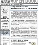 Spring Open Door Newsletter 2013
