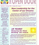 July-Aug 2015 Open Door newsletter: Board Challenges & Changes, Our Vision, Crystal Energy, Walking with the Master, Natural remedies – and more!