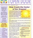 Oct-Dec 2014 Open Door Newsletter: Read the Latest Open Door Newsletter Issue